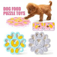 Puppy Treat Dispenser Dog Toy with Non-Slip Increase IQ Interactive Flower Slow`