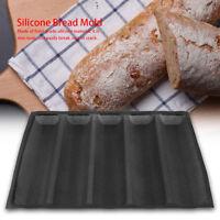 Silikon Baguette Backblech Backform Brotform Brotbackform Kuchenform Backen DE
