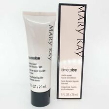 Mary Kay Timewise Liquid Matte Wear Foundation Ivory 7, 1 oz #038756 New in Box