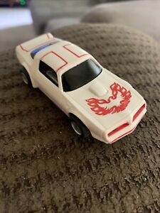TYCO - '70's Firebird Trans-Am White/Red Untested.