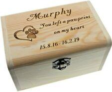 Memorial Box Pet Cremation Urn Casket For Cat Rabbit Ferret Hamster Ashes Memory