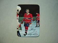 1977/78 O-PEE-CHEE NHL GLOSSY PHOTO INSERT HOCKEY CARD #7 GUY LAFLEUR NM OPC