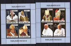 Guinea Bissau - Pope John Paul II - Gold /Silver -  Timbres Briefmarken MNH**AM5