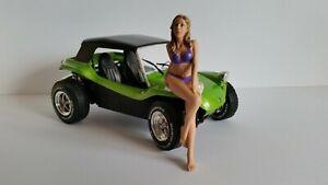 american diorama 1:18 figure -  bikini girl July resin