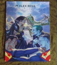 SDCC 2017 Exclusive Alex Ross Sketch Book Limited Edition only 400 exist