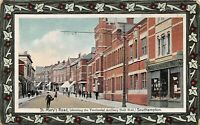 POSTCARD  HANTS - SOUTHAMPTON  - ST MARY'S ROAD - SHOWING THE DRILL HALL -