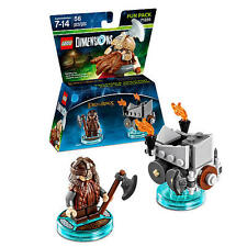 LEGO Fun Pack DIMENSIONS LORD OF THE RINGS Gimli +3IN1 Characters BUILDING TOY