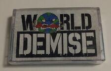 World Demise s/t Cassette hardcore NJHC Suburban Scum Mongoloids