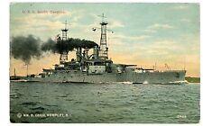 Military/Navy -USS SOUTH CAROLINA -Wm Child Postcard U.S.S.