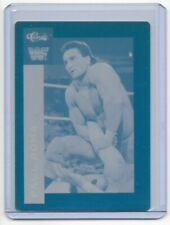 1/1 PAUL ROMA 1991 WRESTLER CLASSIC CARDS PRINTING PLATE WRESTLING WWE WF 1 of 1