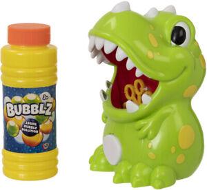 Kids Electronic Bubble Machine Pals - Unicorn - Dino - includes Bubble Solution