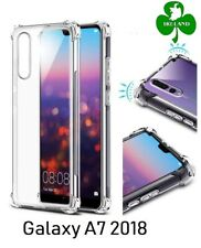 For Samsung Galaxy A7 2018 Case Cover Crystal Clear Protective ShockProof Case