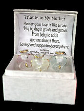 Mother of the Bride Crystal glass Angel box personalised wedding gift  #7