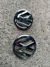 VW GOLF MK7/MK VII Genuine BADGE/EMBLEM/LOGO FOR BONNET AND BOOT OEM Chrome