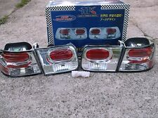 APC EURO TAIL LIGHTS!! 96-2000 HONDA CIVIC.   NEW 4 PC SET!!  APC 40.4152.TLR