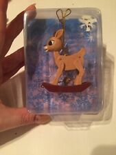 New in Package - Rudolph The Red Nosed Reindeer Ornament Clarice Vhtf