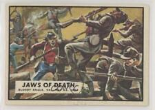 1962 Topps Civil War News #64 Jaws of Death Non-Sports Card 0s4