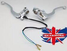 "Motorbike Aluminum Brake Clutch Levers For 22mm 7/8"" Motorcycle handlebar"