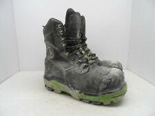 DUNLOP Men's Composite Toe Composite Plate 8'' Leather Work Boots DLNA16100 11M