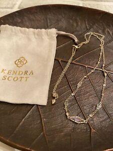 Kendra Scott Debra Zuly Gold Adjustable Choker Necklace