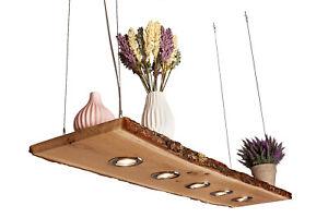 LED 60cm - 120 cm Massivholz Eichen Esstischlampe Decken Lampe Holz Natur