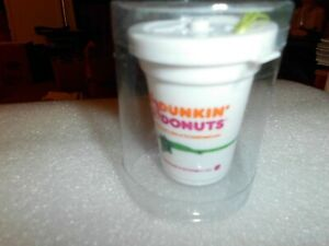 Rare Dunkin Donuts Christmas Ornament new SEALED IN PLASTIC TUBE