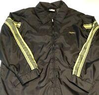 Men's QUICKSILVER SKI JACKET Size XL Black w/ Army Green Full Zip Snowboard