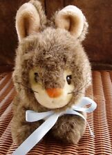 "Applause Vintage Brown Plush 10"" Bunny Rabbit named Wilma Jr # 8576 Effe Design"