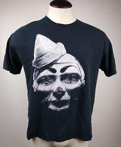 """Mr. Bungle """"Clown Face"""" Vintage T-Shirt Punk Rock Band"""