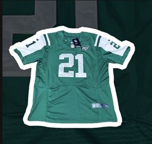 NEW YORK JETS #21 CHRIS JOHNSON NFL NIKE ON FIELD FOOTBALL JERSEY NEW WITH TAGS