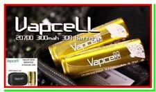 2 Batterie 20700 VAPCELL Pila Ricaricabile Litio 3100mAh 30A Li-ion Lithium vape