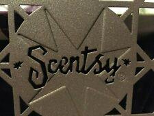 Vintage Scentsy Square Warmer Stand Trivet Brown Bronze Square NIB