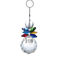 Handmade Colorful Crystal Suncatcher Prisms Pendant FengShui Hanging Drop Gift