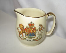 ROYAL WINTON GRIMWADES CREAMER PITCHER w/COAT OF ARMS CANADA MADE IN ENGLAND