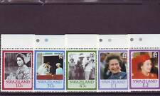 SWAZILAND - SG500-504 MNH 1986 60th BIRTHDAY QEII