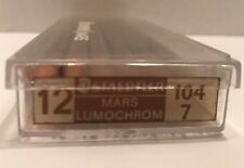 VINTAGE STAEDTLER MARS LUMOCHROM 104-7 BROWN COLOUR PENCILS CRAYONS 12 PCS