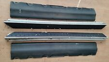 BMW X5 E53 2001-2005 ALUMINIUM SIDE STEPS RUNNING BOARDS WITH PLASTIC COVER