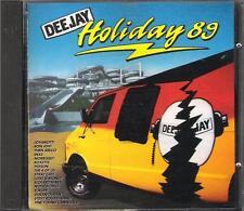 "RARO CD FUORI CATALOGO 1989""DEEJAY HOLIDAY 89""JOVANOTTI DURAN DURAN EUROPE INXS"