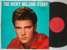 THE RICKY NELSON RICK STORY / JAPAN 60'S FLIP BACK COVER