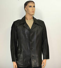 Lederjacke Jacke Vintage 70-80er Grün       Gr:52-54          LJ129