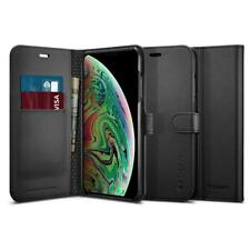 Spigen Premium Wallet Case for iPhone XS Max - Black