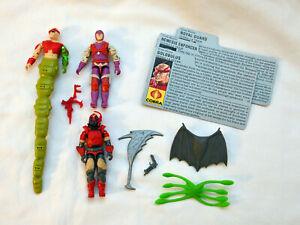 GI Joe Cobra-La Team Golobulus Nemesis Enforcer Royal Guard complete cards 1987