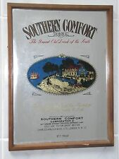 SOUTHERN COMFORT GRAND OLD DRINK OF THE SOUTH SIGN MIRROR BAR MAN CAVE BBQ
