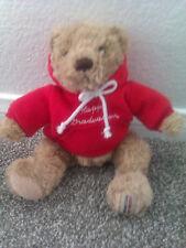 Herrington Handcrafted Teddy Bear Limited Edition Graduation 2003 Sweater Brown