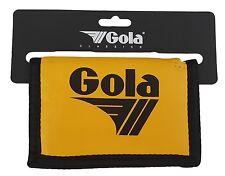 Gola Nylon Portafoglio Con Tasca Per Monete - CUB300 Giallo / Nero