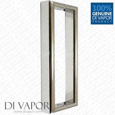 Di vapore (R) 180mm maniglia della porta doccia | 18cm (7 POLLICI) FORO A FORO | INOX