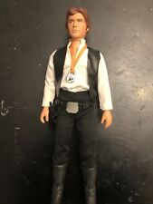 Star Wars Vintage 12 inch . Han Solo  with original 12inch Accessories