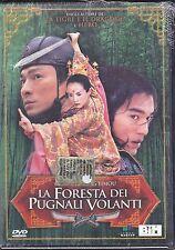 Dvd **LA FORESTA DEI PUGNALI VOLANTI** nuovo 2004