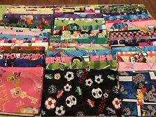 Children 15 fat quarters fabric bundle no duplicates 100% cotton high quality