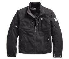 Harley Davidson Mens Power Water-Resist Textile Riding Jacket 97229-18EM, Medium
